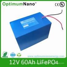 Solar Energy Storage LiFePO4 Battery 12V 60ah
