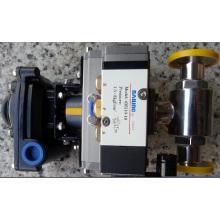 Шаровой кран с приводом и ограниченным выключателем