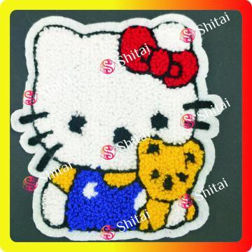 Salut minou Chenille Patches