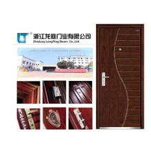 Puerta de madera interior compuesta sólida de la puerta de madera