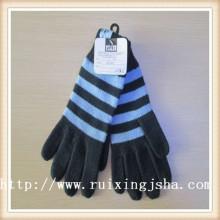 Men's Knitted Stripe gloves