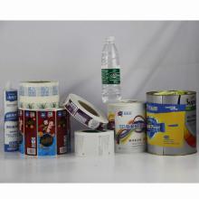 Etiqueta autoadhesiva de alta calidad personalizada de la etiqueta para el paquete del champú