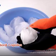 Warm Keeping Waterproof Fleece Lined Glove Winter Cold Latex Palm ICE Gloves
