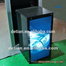 Advertisement products customize outdoor sandwich aluminum display stand