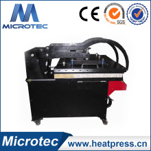 Machine ouverte automatique de haute qualité de presse de la chaleur de Microtec avec le lit de glissement