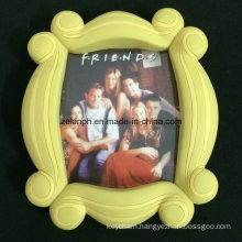 Custom Big Rubber PVC Photo Frame for Souvenir Gifts
