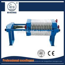 kleine Filterpresse zum Verkauf in China