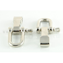D форма металлическая пряжка регулируемый