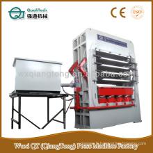Multi-couche hydraulique Lift Door Hot Plate Press