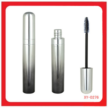 Plastic Cosmetic Silver And Gray Color Mascara Case