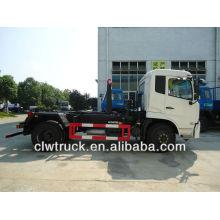 8 toneladas de DFL rodar camión de basura con cubo de basura