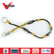rope material metal buckle belt