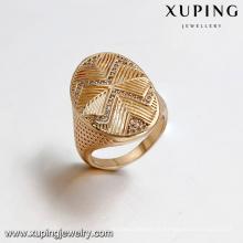 14428 Xuping Jewelry Anillo de hombre de moda chapado en oro de 18 quilates