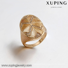 14428 Xuping Jewelry 18K Gold Plated Fashion Man Ring