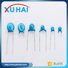 Pass RoHS Seguridad Alta Calidad Azul Condensador De Cerámica