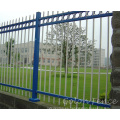 Aluminio de hierro forjado Metal de acero valla decorativa patio trasero valla