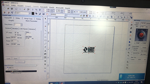 MM3D software ware for 3d marker