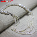 Fashion Cultured Freshwater Baroque Pearl Necklace for Women