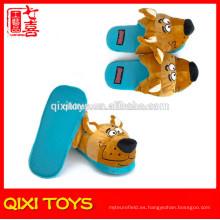 zapatillas de felpa de felpa suave para interiores zapatillas de animales de felpa