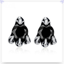 Cristal joyería accesorios de moda pendiente de acero inoxidable (EE0216)