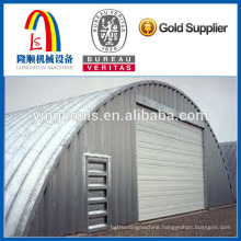 K Steel Building Curving Arch Sheet Roll Forming Machine