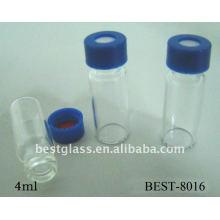 Bouteille chromatographique de vis de 4ml, fiole d'échantillonneur automatique