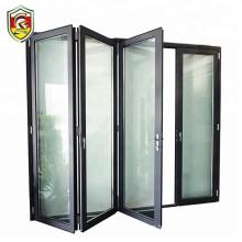 Latest modern design front house exterior accordion aluminium folding door