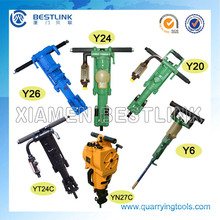 Hand Held Rock Drill Machine for Drilling Hole