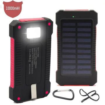 Портативный солнечной энергии Банка зарядное устройство Водонепроницаемый действие 10000mah для iPad (СК-5688)