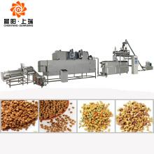 Pet dog pellet food processing extruder machine