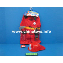 Promocionais Presente Uniforme Fire Fighter Clothes Dress Toy (652348)