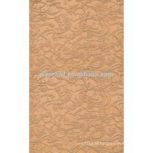 De alta calidad de 2,5 mm, 3 mm de cartón liso y grabado en relieve