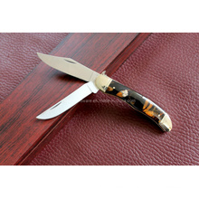 Resin Handle Double Blades Knife (SE-0478)