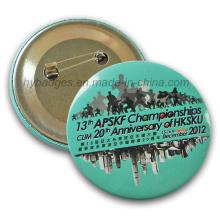 Печатание значка кнопки Corlorful значок олова (GZHY-MKT-025)
