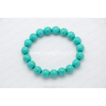 10MM Turquoise round beads bracelet fashion unique jewelry wholesale