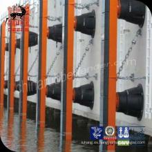 El panel marino de las defensas del muelle de la nave del cojín de la cara de la defensa del uhmwpe resistente al desgaste de alta calidad