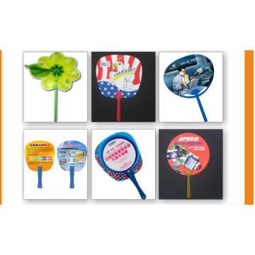 Advertising Promotional Gifts Hand Held Fan Cheap Plastic PP Fan