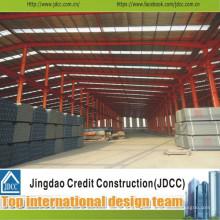 Taller de estructura de acero grande de alta calidad