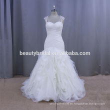 SL362 downton abbey estilo vestidos ropa para mujer extraíble encaje tapa manga vestido de novia