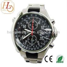 Relógio automático da forma, relógios de aço inoxidável 15027 dos homens