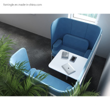 Customize U Shape Face to Face Office Meeting Booth