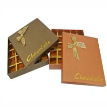 Chocolate box cardboard paper gift case