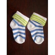 Tourner le brassard bébé mignon coton chaussettes Designs personnalisés pour les gros