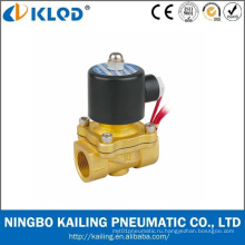 Низкая цена Латунь воздуха газ вода нефть электромагнитный клапан 220 В переменного тока