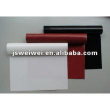 Tissu en fibre de verre enduit de silicone de 0,60 mm