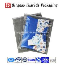 Bolso de empaquetado de alta calidad de la ropa plástica transparente