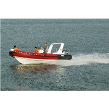 2011 nuevos caliente CE rib680A cabina inflable barco lujoso yate