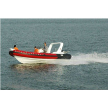 2011 new hot CE rib680A cabin inflatable boat luxury yacht