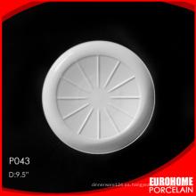 Eurohome restaurante usar plato de porcelana