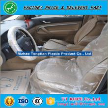 LDPE ivoire en plastique 15micron élimination des sièges de voiture en rouleau